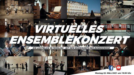 Ein Lichtblick im Frühling - Das Ensemblekonzert des Musikkorps der Bundeswehr 2021 -